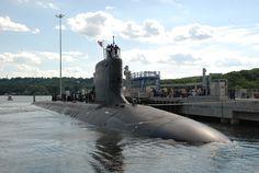 U.S. Navy Virginia class Submarine