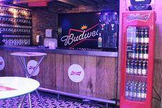 Evento de lançamento da Budweiser em Recife