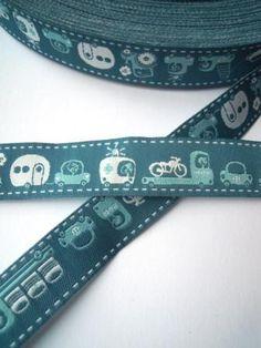 Lieblingsstücke: Wheels, petrol, Webband Personalized Items, Shopping, Fabrics