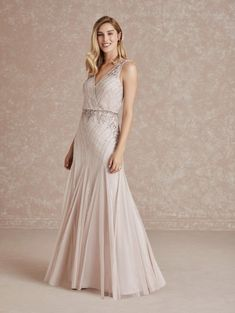 Adrianna Papell Platinum 40280 Sophisticated Gown Long Formal Gowns, Trumpet Gown, Types Of Dresses, Dress Silhouette, Bridesmaid Dresses, Wedding Dresses, Pageant Dresses, Adrianna Papell, Bodice