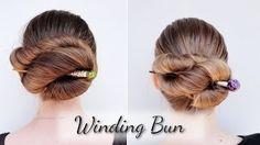 Haartraum Winding Bun Anleitung - YouTube