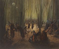 Léon Becker (1827-1891), Symphony of the Insects, 1870