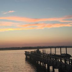 Wrightsville Beach Causeway sunset #ilovethebeach