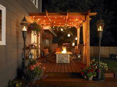 deck and patio with pergola design ideas