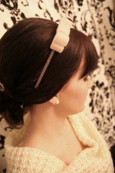 DIY Bow Headband