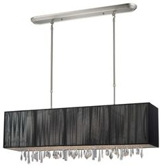 Buy the Z-Lite Brushed Nickel Direct. Shop for the Z-Lite Brushed Nickel Casia 4 Light Chandelier with Black Shade and save. Kitchen Ceiling Lights, Kitchen Island Lighting, Pool Table Lighting, Chandelier Lighting, House Lighting, Chandeliers, Billiard Lights, Cabinet Lighting, Fabric Shades