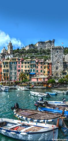 Portovenere, Liguria, Italy #WonderfulLiguria #WonderfulExpo