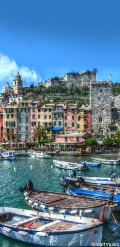 Portovenere, Liguria, Italy #WonderfulLiguria #WonderfulExpo