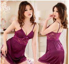 Купить товарТедди Nice фиолетовый сексуальный женское бельё ночной халат женщины ночное рубашки ночная рубашка взрослые клуб платье Babydoll в категории Эротическая одеждана AliExpress.              Мы обещаем вам полный возврат включая оригинальную если вы только 99.99% удовлетворены.  Заявка с дов
