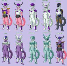 Frieza, Cooler and King Cold | DragonBall Zeto!! | Dragon ...