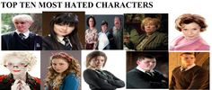 My Top 10 Most Hated Harry Potter Characters by ...