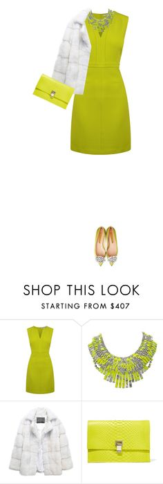 """""""Embellished Shoes!"""" by marion-fashionista-diva-miller ❤ liked on Polyvore featuring Diane Von Furstenberg, Tom Binns, Lilly e Violetta, Proenza Schouler, contestentry, outfitonly and embellishedshoes"""