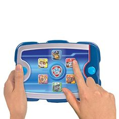 Now you can lead the Paw Patrol just like Ryder! With Ryder's Pup Pad, Paw Patrol missions are only a touch away! Ryder's Pup Pad features over 15 phrases straight from the hit TV show! Just press a button to hear a phrase! Choose from Chase, Marshall, Skye, Rocky, Zuma and Rubble! Each character has unique sounds...   toys4mykids.com