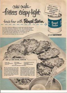 Safeway Royal Satin Shortening (1951)