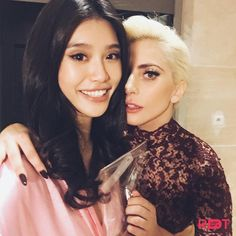 Lady Gaga and Ming Xi