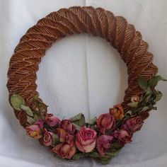 Make a Gorgeous Newspaper Wreath