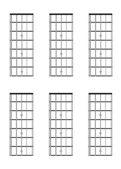 four string bass guitar charts fretboard diagrams intervals scales music teaching. Black Bedroom Furniture Sets. Home Design Ideas