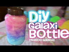 DIY Galaxy Bottle(Frasco Galaxia)//Decora tu Habitacion - YouTube