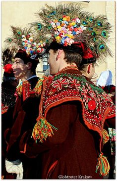 Groomsman's costume. Photo via Globtrotter Kraków. Art Costume, Folk Costume, Costumes, Rare Clothing, Folk Clothing, Polish Embroidery, Visit Poland, Polish Folk Art, Historical Images