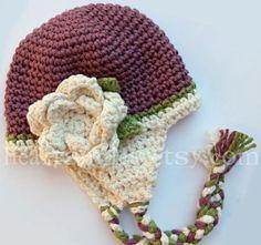 Per fare uno di questi cappelli, potete scegliere uno dei due schemi che seguono, facendo gli aumenti fino a raggiungere la circonferen...