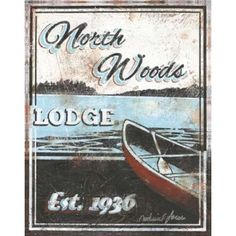 Portfolio Canvas Decor Northwood Lodge by Catherine Jones Framed and Stretched Ready-to-Hang Canvas Wall Art, Size: Large 33 inch, Multicolor Metal Wall Art, Framed Wall Art, Wall Art Decor, Canvas Art Prints, Painting Prints, Canvas Wall Art, Lodge Decor, Online Art Gallery, Stretched Canvas