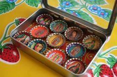LA VIRGEN DE GUADALUPE~Virgen de Guadalupe Magnet Set