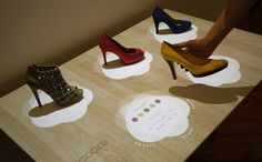 Perch's Augmented and Interactive Displays Could Change the Way You Shop for Shoes [VIDEO]