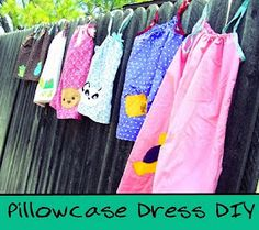 Pillowcase dress tutorial >know people who make these and sends them over seas They are So Cute!