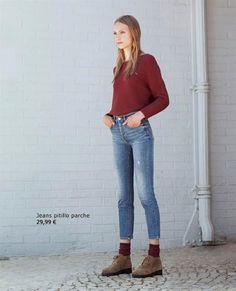 LA MODA ME ENAMORA : Pantalones vaqueros de Pull & Bear para chicas