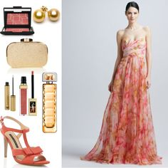 Sublime Badgley Mischka #dress in L's #outfit for the Formal Summer Soiree #fashion #contest