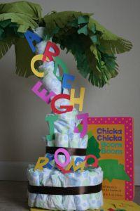 Chicka Chicka Boom Boom Birthday Cake