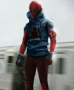 SPIDERMAN homemade suit.