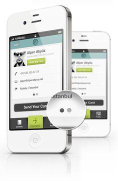 Cardness #iPhone #App Design by Alper Akyüz, via #Behance #Mobile