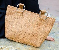 Cork Fabric Purse