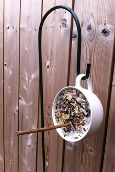 DYI: Feeding birds with a cup of seeds @ Syl Loves Life - 35 Before 35
