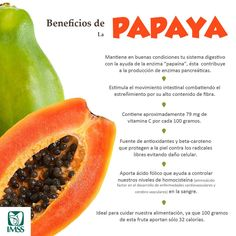 Vive con Diabetes - Beneficios de la papaya