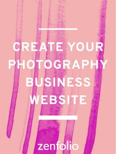 Start building your own business photography site today with Zenfolio: The all-in-one solution for elegant, custom websites. Always built just for photographers. #Zenfolio