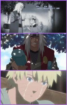 Poor Naruto this was so sad.. I can't believe Pervy Sage died.... :'(