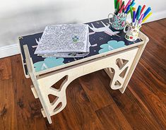 Help your kids learn and play at home with our adjustable & integrated playstation. Only VAT Included. Choose from 15 designs or customise it yourself. Dimensions: W x D x H Worktop Designs, Bench Set, Kid Desk, Play To Learn, Our Kids, State Art, Drafting Desk, Kids Learning, Kids Playing