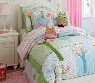 I wish I could have afforded this one instead of her Target Owl Bedding, sooo adorable!