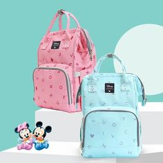 Buy Mickey and Minnie mouse Bags, Purses and backpacks at the Lowest Prices on the Market FREE Worldwide Shipping ( Do not Miss These Offers ♥ ) Best Baby Bags, Baby Girl Diaper Bags, Cute Baby Boy, Carters Baby Girl, Baby Girls, Toddler Bag, Toddler Toys, Toddler Girl, Baby Life Hacks