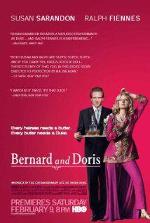BERNARD AND DORIS:  Director: Hugh Costello  Year: 2006  Cast: Susan Sarandon, Ralph Fiennes, Peter Asher, Don Harvey
