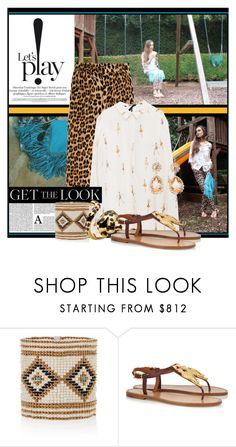 """""""Let's Play!"""" by sandrascloset ❤ liked on Polyvore featuring Zara, Yves Saint Laurent, Valentino and Miu Miu"""