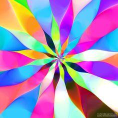 Flower (Arts numériques) par Richard Vigniel Fleur algorithmique. Cette magnifique image numérique a été créée par un harmonieux assemblage d'algorithmes, filtres et transformations, habilement combinés par l'artiste.  This amazing digital picture was created by an harmonious assembly of algorithms, filters and transforms, smartly combined by the artist.
