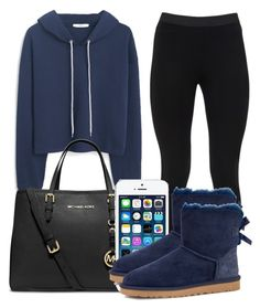 """""""You look like you need a vaction"""" by bestdressed101 ❤ liked on Polyvore featuring MANGO, Peace of Cloth, MICHAEL Michael Kors and UGG Australia"""