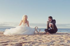 SUPER CUTE PICTURE!!    Maui Wedding Packages Blog is a gallery of Maui beach weddings by Simple Maui Wedding: DT Fleming Beach