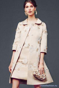 Crossfashion Group - Dolce & Gabbana, лукбук коллекции женской одежды осень-зима 2014-2015