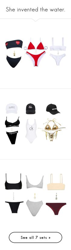 """""""She invented the water."""" by thaijohnson ❤ liked on Polyvore featuring Accessorize, Arme De L'Amour, Jay Strongwater, Bling Jewelry, Calvin Klein, Vetements, Nasaseasons, Matteau, FELLA and Fleur du Mal"""