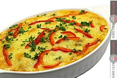 Low-carb Cauliflower Casserole - video recipe by Adygio Low Carb Cauliflower Casserole, Food Videos, Thai Red Curry, Breakfast, Ethnic Recipes, Main Courses, Diets, Youtube, Kitchens