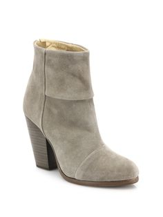 Newbury Suede Ankle Boots by Rag & Bone